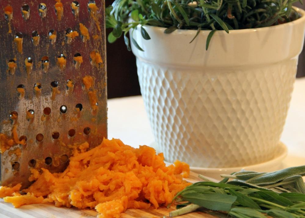 Herbed Sweet Potato Rösti (1/4)