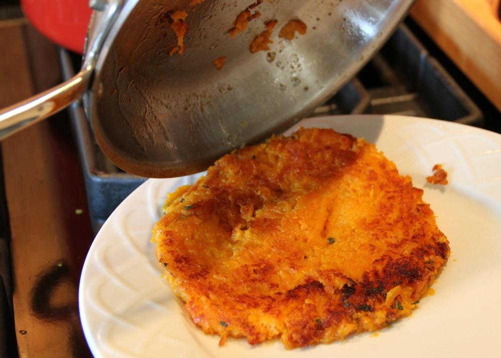 Herbed Sweet Potato Rösti (3/4)