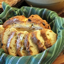 March - St. Patrick's Day Soda Bread for my Irish husband.