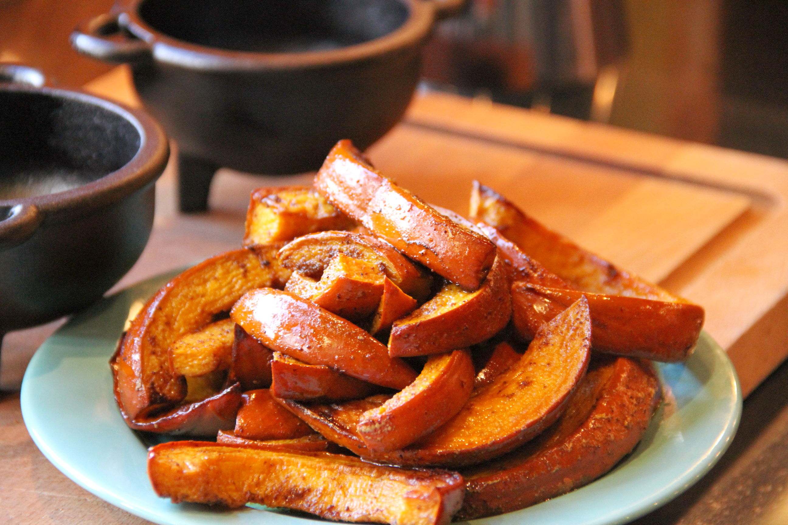 Smoky Chipotle-Roasted Pumpkin | MixerUpper.com