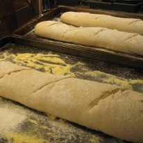 January - time for baking Wheaty Baguettes