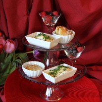 February - celebrating Valentine's Day at Chez Moi