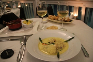 Monkfish in Coconut Curry Sauce