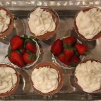Making Dessert for Easter Brunch
