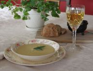 Irish Parsnip and Apple Soup