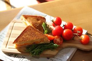 Ham, Swiss and Sweet Potato Sandwich