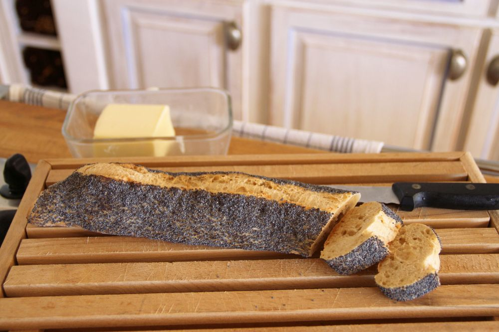 Poppy Seed-Encrusted Bread