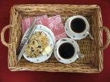 Breakfast in Bed - Blueberry Scones
