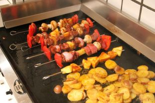 Beef and Pineapple Kabobs