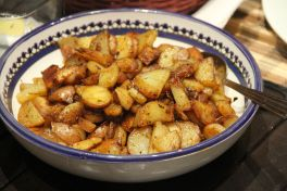 Fried, Herbed Potatoes