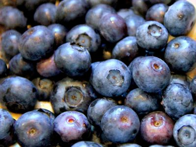 Saturated Blueberries