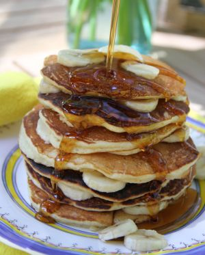 Layers - Banana Pancakes