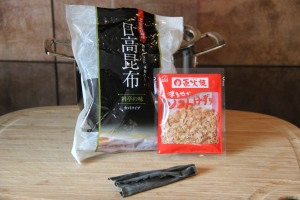 Dashi Ingredients