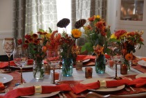 My Sister's Thanksgiving Table