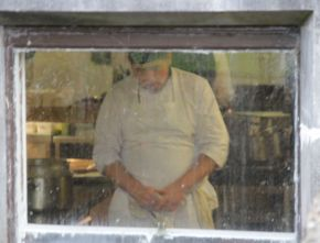 Window - Chef at Ashrord Castle