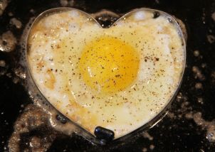 Valentine's Eggs-Sunny Side Up 4